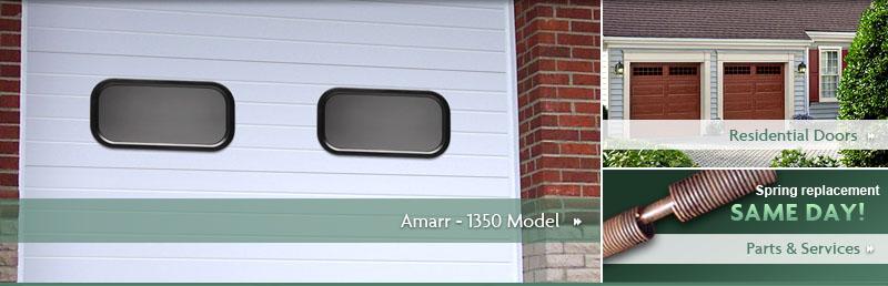 All City Garage Door Amarr Commercial Garage Doors 1350 Model
