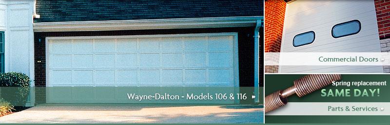 All city garage door wayne dalton garage doors model 9400 for Wayne dalton 9100 series