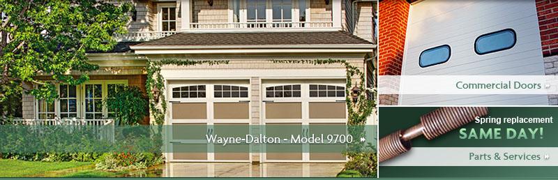 all city garage door wayne dalton garage doors model 9700. Black Bedroom Furniture Sets. Home Design Ideas