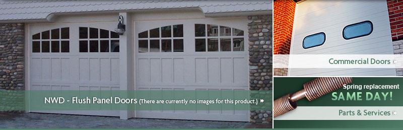 All City Garage Door Northwest Door Garage Doors Flush Doors