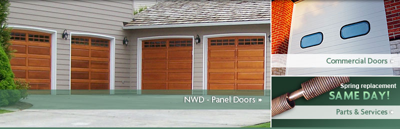 Northwest Doors - Panel Doors & All City Garage Door - Northwest Door Garage Doors - Panel Doors