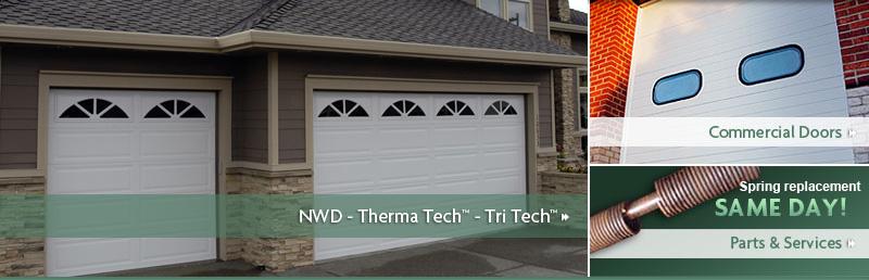 All city garage door northwest door garage doors for Therma door garage insulation